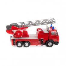 Imagen en la que se ve un camión de bomberos