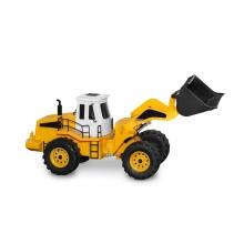 Imagen en la que se ve una excavadora
