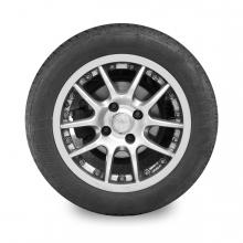 Imagen en la que se ve una rueda de coche