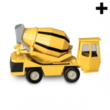 Imagen en la que se ve el plural del concepto camión hormigonera
