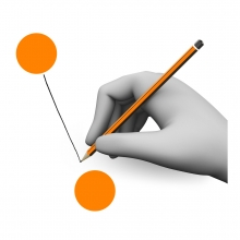 Imagen del verbo unir