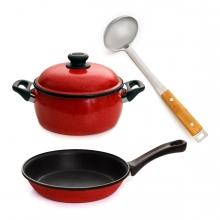 Imagen en la que se ve el concepto genérico de utensilios de cocina
