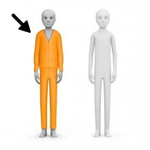 Imagen en la que se ve una persona con ropa