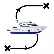 Imagen en la que se ve el concepto viajar en barco