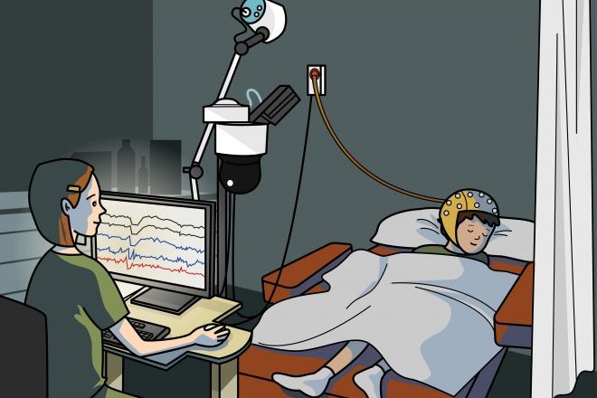 EEG nocturno
